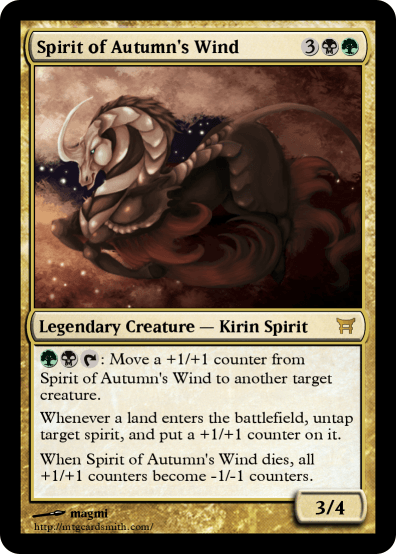 Spirit of Autumn's Wind