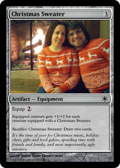 Christmas Sweater By Jtyne Mtg Cardsmith