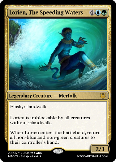Lorien, The Speeding Waters