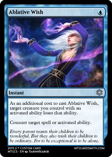 Ablative Wish by AtheraCollaborationSet | MTG Cardsmith Planeswalker Activated Ability