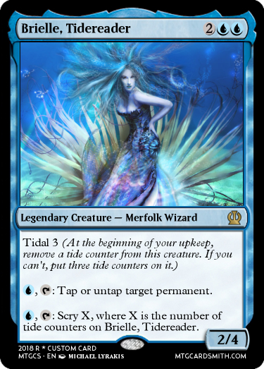 Brielle, Tidereader
