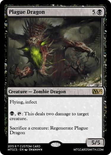 plague dragon by tesarand
