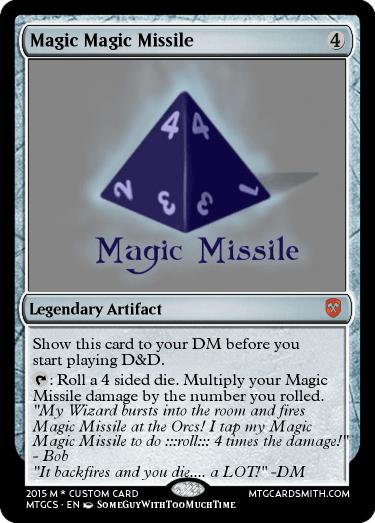 Magic Magic Missile