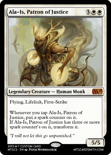 Ala-Is, Patron of Justice