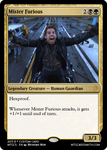 Mister Furious By Biblio Mtg Cardsmith