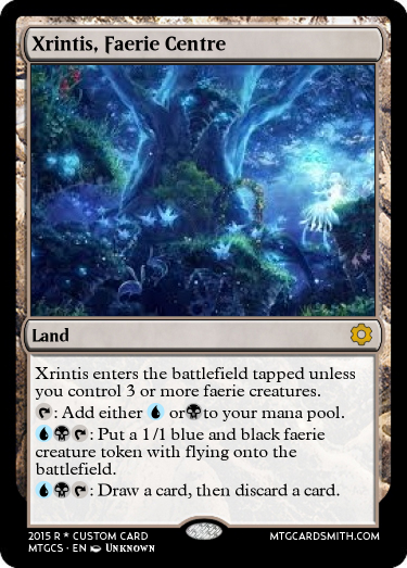 Xrintis, Faerie Centre by AtheraCollaborationSet | MTG ...