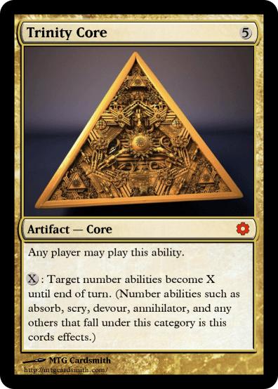 Trinity Core by Sharecon | MTG Cardsmith