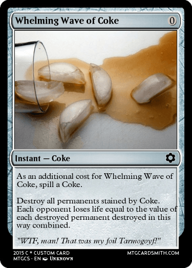 Whelming Wave of Coke