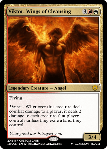 Viktor, Wings of Cleansing