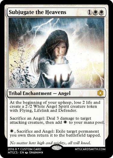 Subjugate the Heavens by poogle