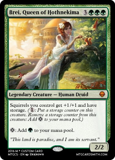 Brei, Queen of Hothnekima