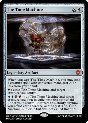 time machine mtg