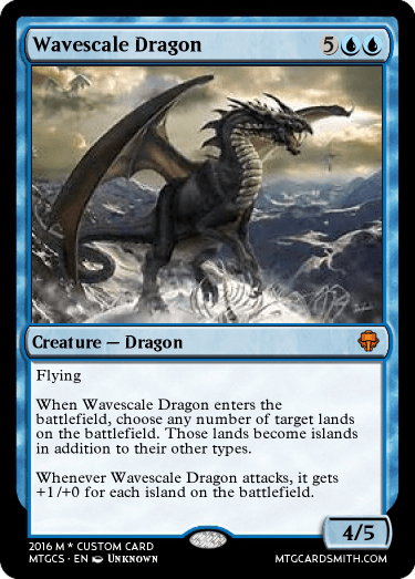 Wavescale Dragon