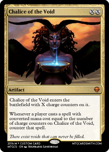 Chalice of the Void by DomriKade   MTG Cardsmith
