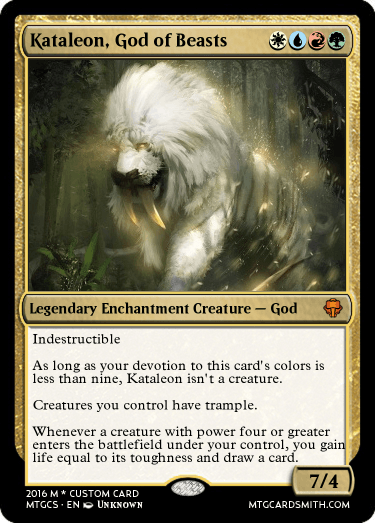 Kataleon, God of Beasts
