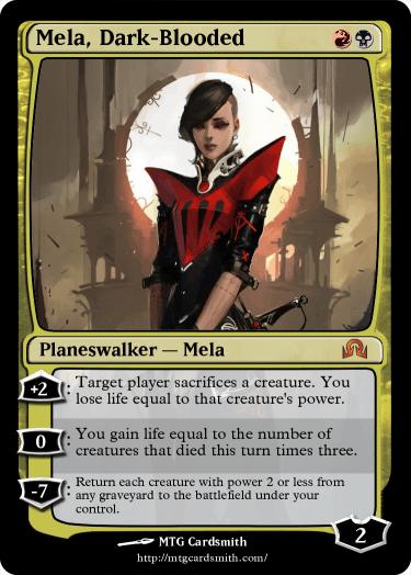 Mela, Dark-Blooded