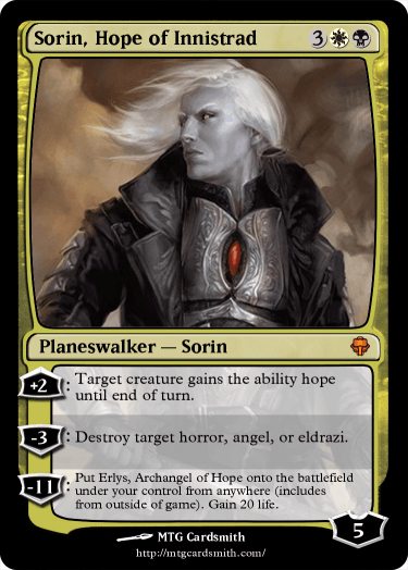 Sorin, Hope of Innistrad