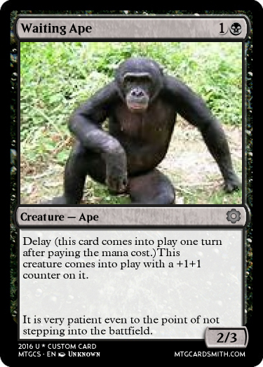 Waiting Ape