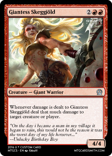 giantess skeggj by naruhina00 mtg cardsmith