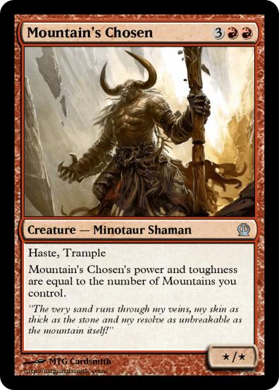 Mountains Chosen