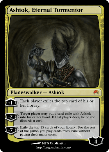 ashiok  eternal tormentor by fyresis