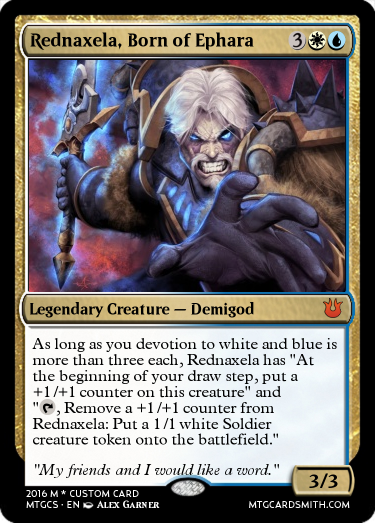 Rednaxela, Born of Ephara