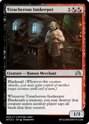 Treacherous Innkeeper