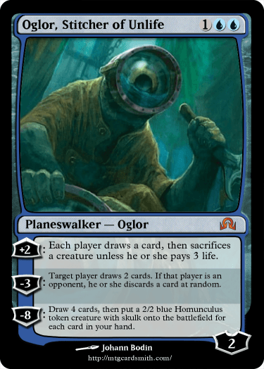 Oglor, Stitcher of Unlife by Roxolid | MTG Cardsmith