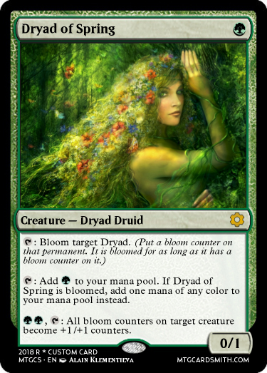 Dryad of Spring