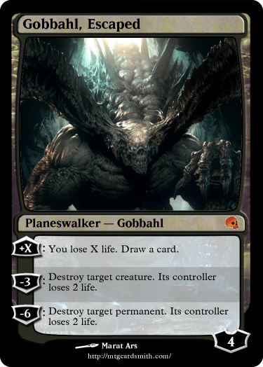 Gobbahl, Escaped