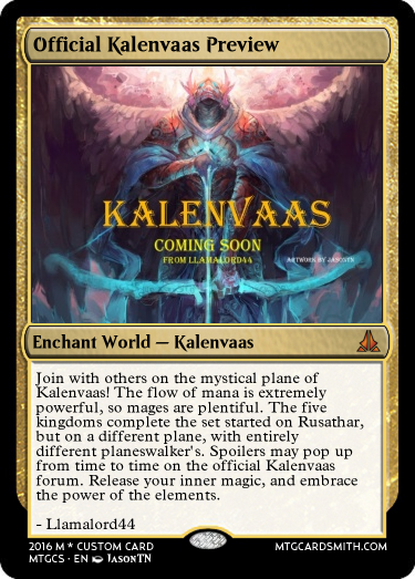 Official Kalenvaas Preview