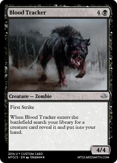 Blood Tracker by WARMAN9391 | MTG Cardsmith
