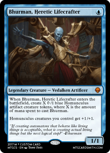 Bhurman, Heretic Lifecrafter