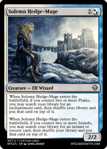 Solemn Hedge-Mage