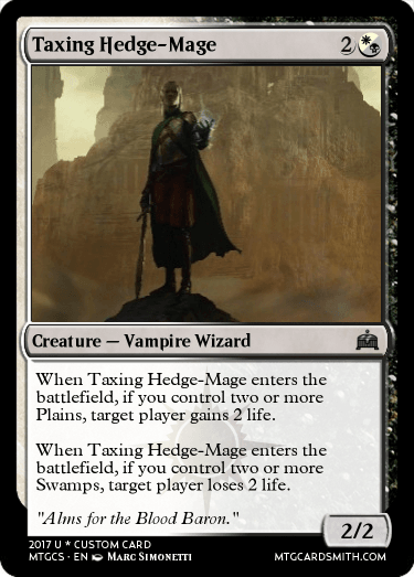 Taxing Hedge-Mage