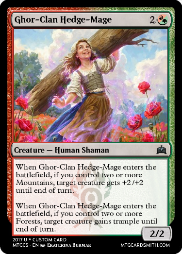 Ghor-Clan Hedge-Mage
