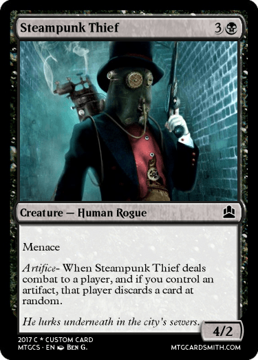 Steampunk Thief