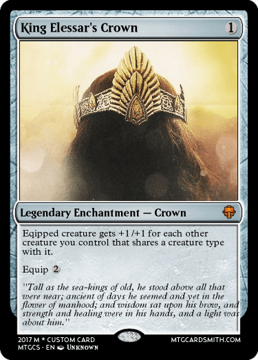 King Elessar's Crown by OndSluHai | MTG Cardsmith
