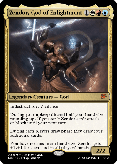 Zendor, God of Enlightment