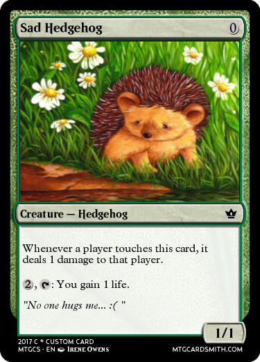 Sad Hedgehog