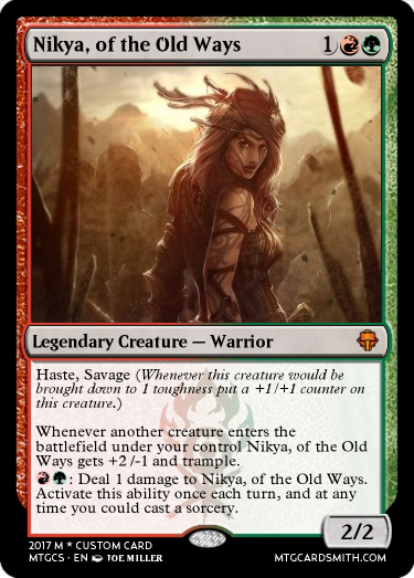 Nikya, of the Old Ways