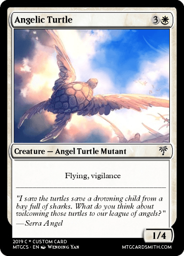 Angelic Turtle