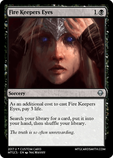 Fire Keepers Eyes