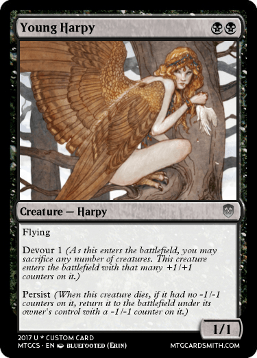 Young Harpy