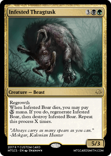 Infested Thragtusk