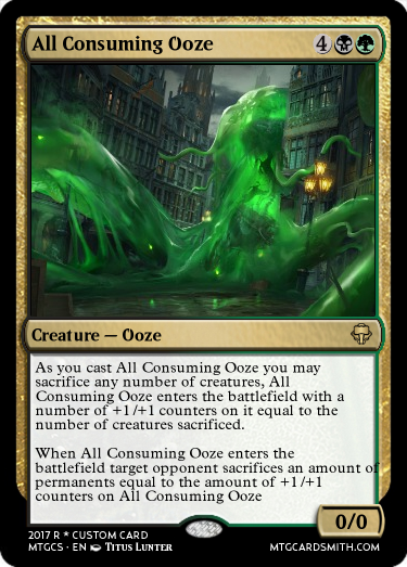 All Consuming Ooze