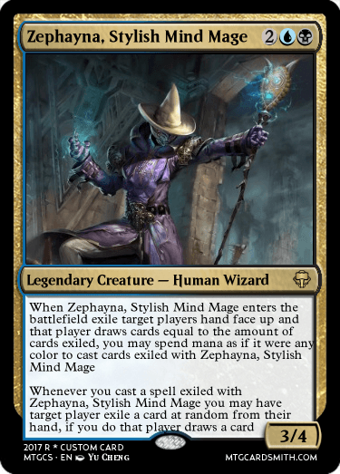 Zephayna, Stylish Mind Mage