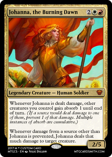 Johanna, the Burning Dawn