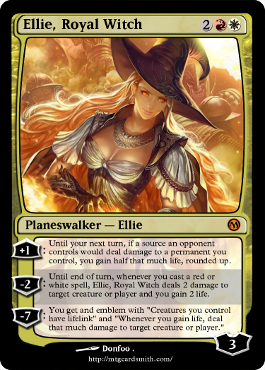 Ellie, Royal Witch