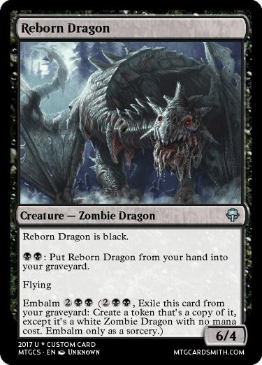 Reborn Dragon By Bradxmagic Mtg Cardsmith